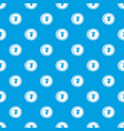 tugrik coin pattern seamless blue vector image vector image