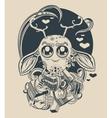 a cute little creature vector image