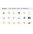 20200125 coronavirus icon cl2 vector image vector image
