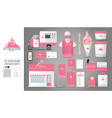 corporate identity template set 10 logo concept vector image vector image