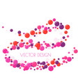 festive multicolored circles vector image vector image