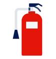 marine extinguisher icon flat isolated vector image vector image