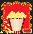 movie birthday party vector image vector image