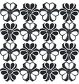 Ornament in black 04 vector image vector image