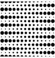 seamless pattern circles dots and lines vector image vector image