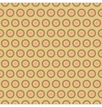 tea abstract seamless pattern tiling with swatch vector image
