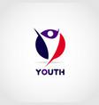 youth logo design symbol icon