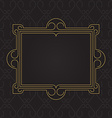 picture frame with space for text Design template vector image