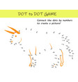 connect dots numbers to reveal a bull vector image vector image