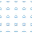 graph on board icon pattern seamless white vector image vector image