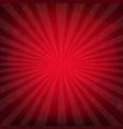 red burst poster with bokeh vector image vector image
