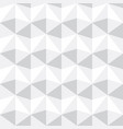 seamless abstract gray and white triangle pattern vector image