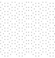 seamless pattern with random dots dotted vector image vector image