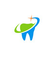 tooth medic abstract logo vector image