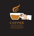 Coffee Cup EPS10 vector image vector image