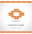 Construction and repair Real estate company logo vector image