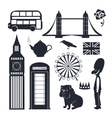 London set vector image