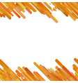 orange trendy gradient background with seamless vector image vector image