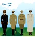 Uniforms military pilot Tsarist Russia vector image vector image