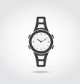 Watch Black Icon vector image