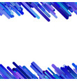 blue abstract repeating diagonal gradient stripe vector image vector image