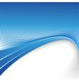Blue folder border background dot texture vector image