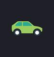 Car computer symbol vector image