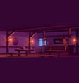 old tavern vintage pub at night vector image vector image