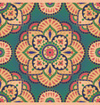 oriental colorful pattern vector image
