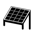 panel solar isolated icon design vector image