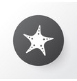starfish icon symbol premium quality isolated sea vector image vector image