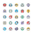 Wedding Cool Icons 4 vector image vector image