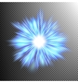 Beautiful rays of light burst EPS 10 vector image vector image