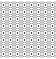 black and white geometric graphic pattern vector image