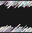 colorful seamless abstract diagonal gradient vector image vector image