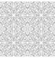 filigree floral pattern vector image vector image