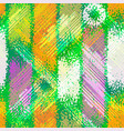 grunge seamless chaotic pattern colorful texture vector image vector image
