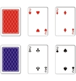 Playing card set 05 vector image vector image