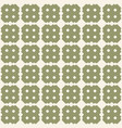 retro vintage seamless pattern green texture vector image vector image