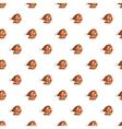 Roast pork knuckle pattern cartoon style vector image vector image