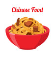japanese chinese noodles ramen foodasian noodle vector image