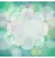 abstract background with bokeh light effects vector image vector image