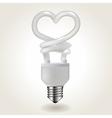 Energy saving bulb vector image vector image