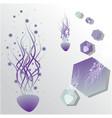 jellyfitsh abstract vector image vector image
