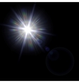 Light flare special effect vector image vector image