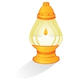 Ritual candle vector image vector image