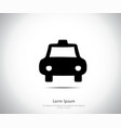 sports car logo company vector image vector image