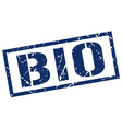 bio stamp vector image vector image