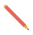 isolated pencil icon image vector image vector image