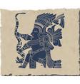 Mayan and Inca tribal vector image